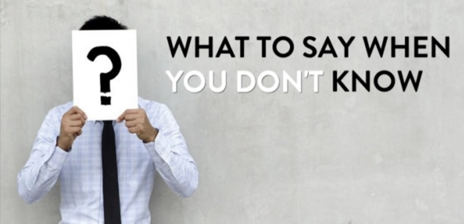 What to Say When You Don't Know What to Say  on the IELTS Speaking Exam