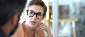 GettyImages-683780614 - woman wearing glasses